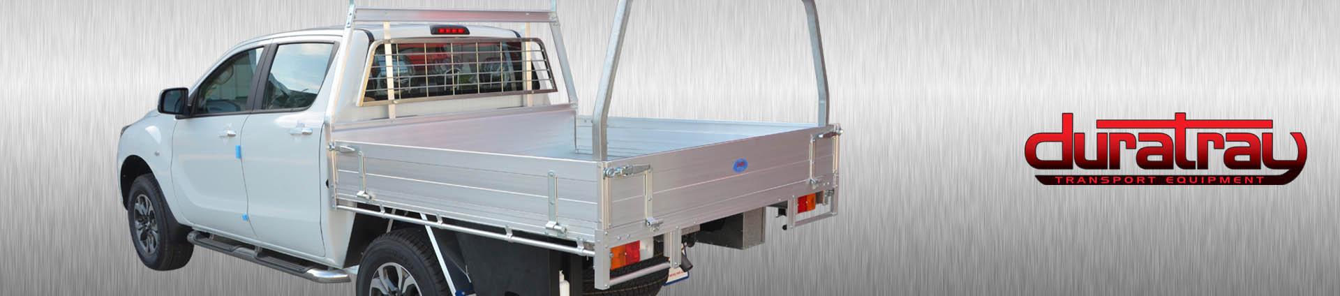 Workman Aluminium Trays
