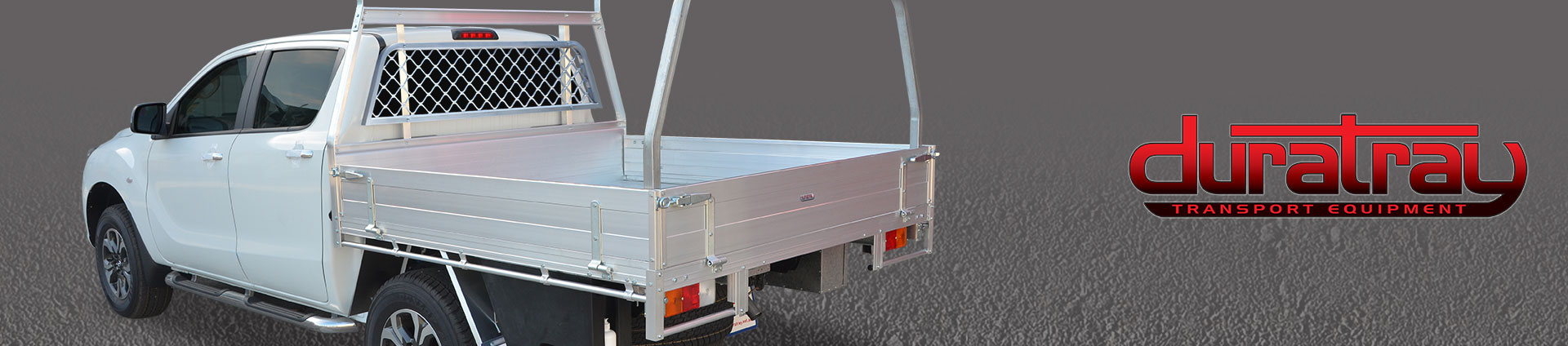 Workman Aluminium Trays